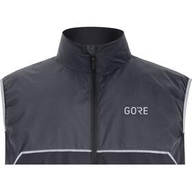 GORE WEAR R7 Partial Gore-Tex Infinium Kamizelka do biegania Mężczyźni szary/czarny